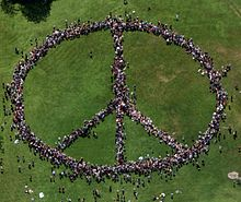 Drawn peace sign world peace On See it Earth Years