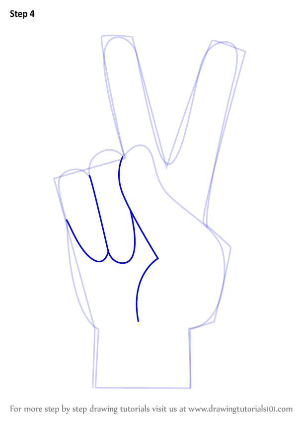 Drawn pot plant peace sign That ideas How Hand Draw