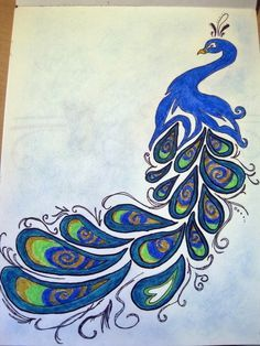 Drawn peacock Drawing Pinterest Best 25+ Peacock