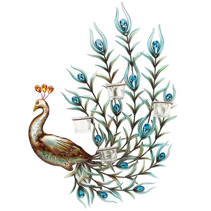 Drawn peacock decorative 24 on images Juliana Cut