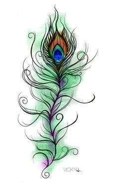Drawn peacock decorative Must now would few he