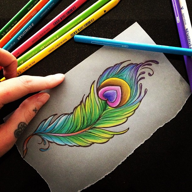 Drawn peacock peacock tail Tattoo content/uploads/2015/08/peac  journal