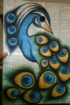 Drawn peafowl pencil drawing Peacocks Pinterest on drawing colored