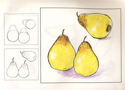 Drawn pear easy Easy life to  Kids