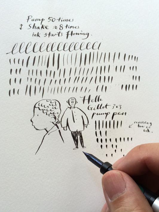 Drawn pen ackerman Gen Pen  Pump review