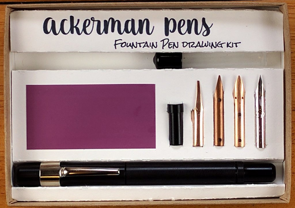 Drawn pen ackerman Pens Ackerman Drawing pens kits