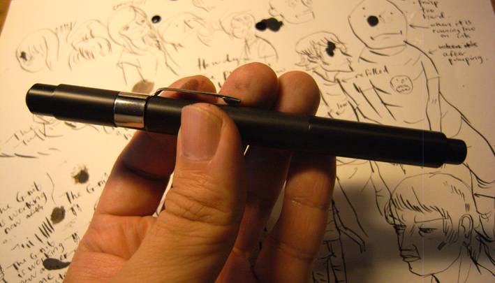 Drawn pen 101 nibs ACKERMAN PENS G