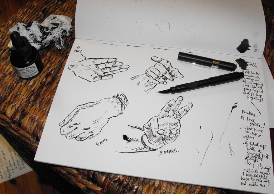 Drawn pen ackerman Scratchyas Review Advertisements First Ackerman