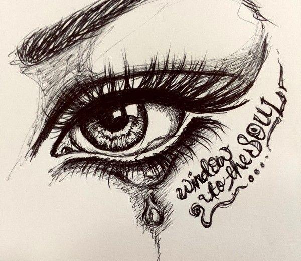 Drawn butterfly eye Window best soul eyes ballpoint