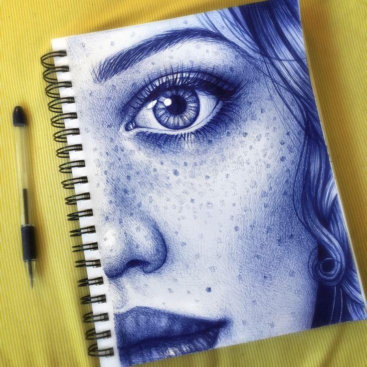 Drawn pen ballpoint pen sketching Pen Morgan Pen 25+ Pinterest