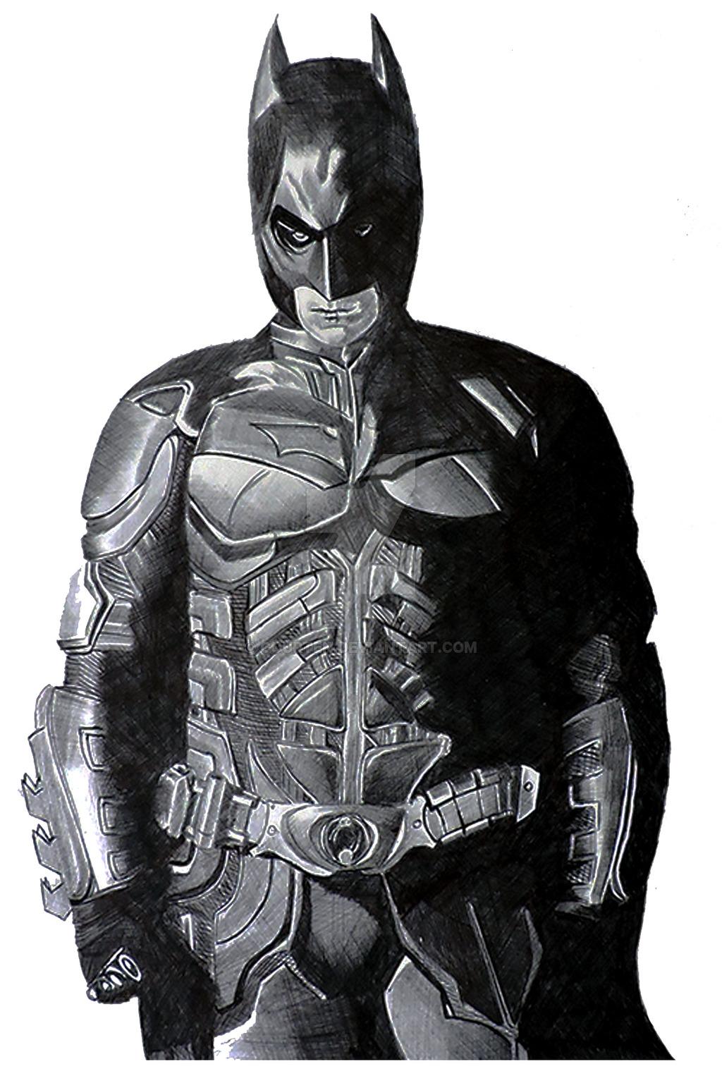 Drawn pen batman #7