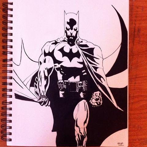 Drawn pen batman Am on Instagram Pen Joseph