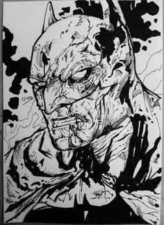 Drawn pen batman #4