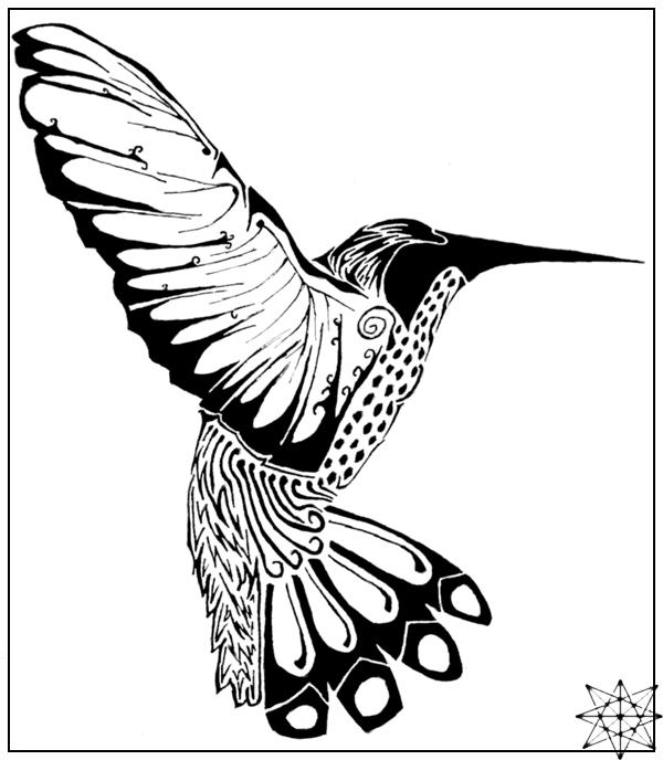 Drawn pen bird 8 Pen and DeviantArt points
