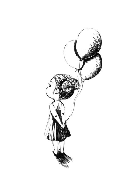 Drawn pen black Indrė Artist: Online Artist: Drawing