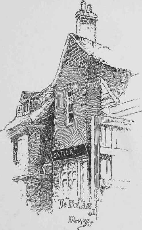 Drawn pen building IN In INK Ink AND