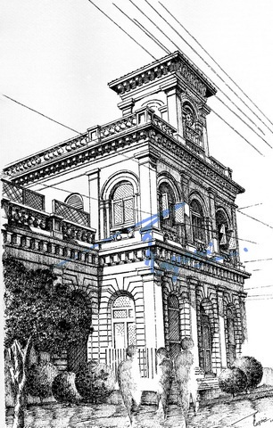 Drawn pen building Images Building with about best