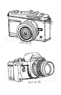 Drawn pen camera Have :) i & for