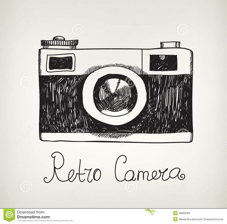 Drawn camera easy Ideas Pinterest And Icons Vintage