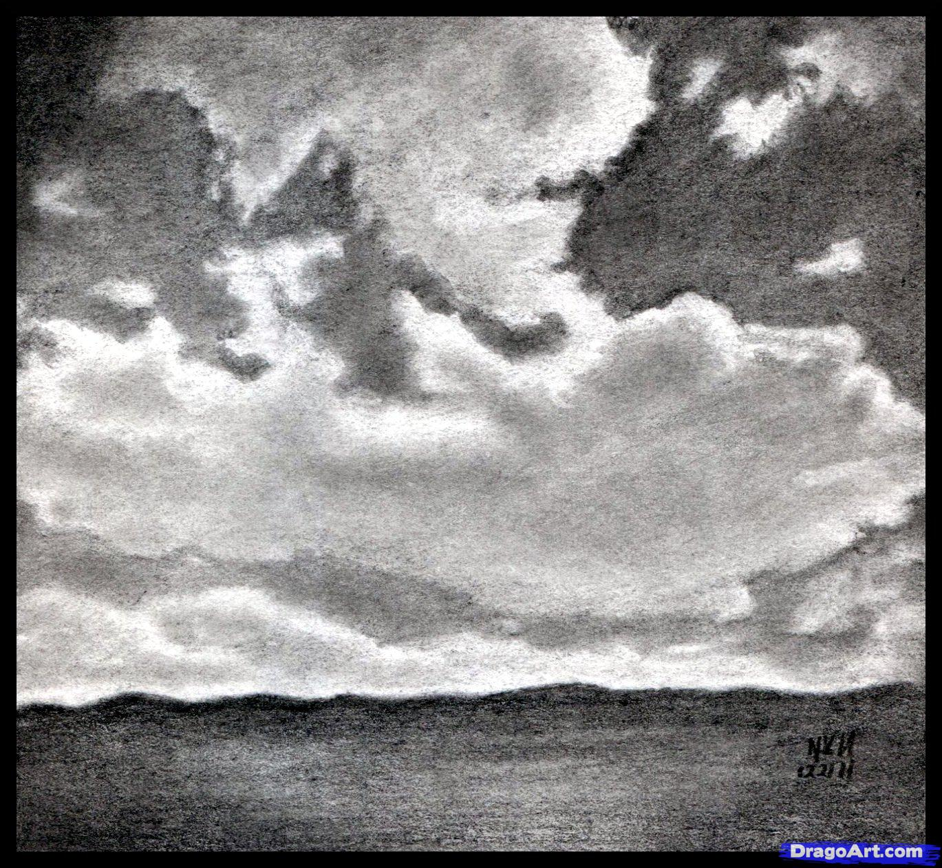 Drawn sky pencil drawing  Realistic to Draw How
