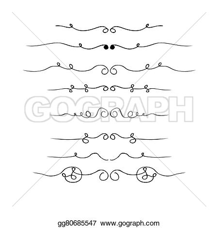 Drawn pen different Drawn style Vector ink Hand