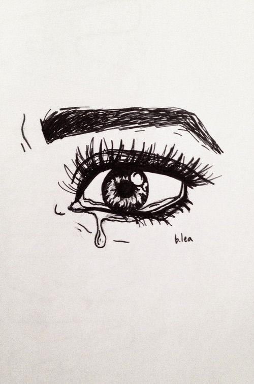 Drawn sad sad heart Best Heart #pen Pinterest #cry