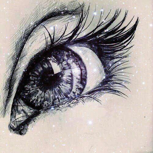 Drawn pen eye XD xD Drawings Eye in