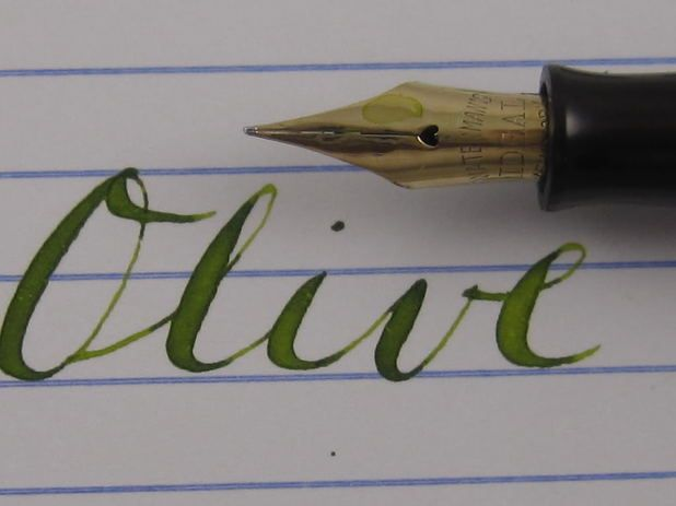 Drawn pen flex Super Nibs to on Pens