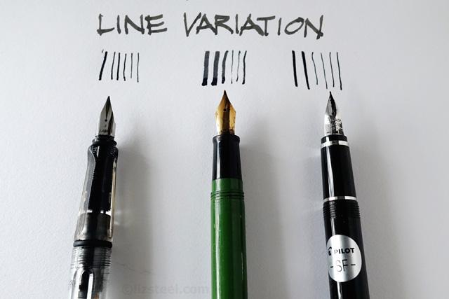 Drawn pen fountain pen Flexible  Why Sketching a