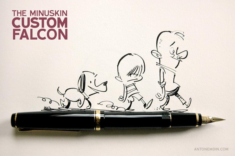 Drawn pen fountain pen #doodle with pen #doodle #ink
