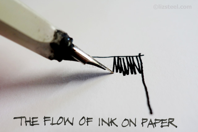 Drawn pen fountain pen Much Liz 2: Pen Fineliners