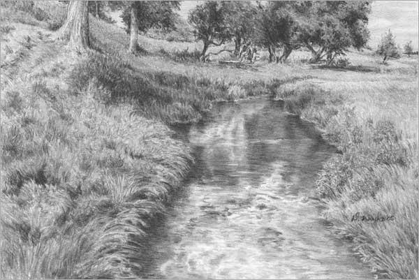 Drawn pen grass Diane by (part tutorial WEEDS