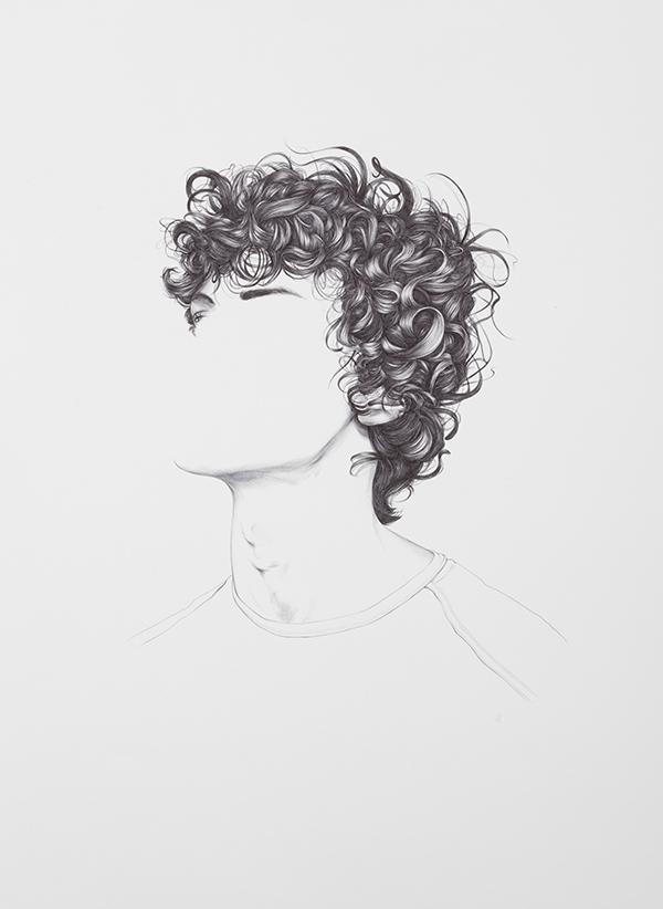 Drawn pen hair Dorian Harris Faces Drawings Gallery