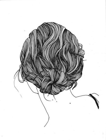 Drawn pen hair Best hair ideas texture Drawing