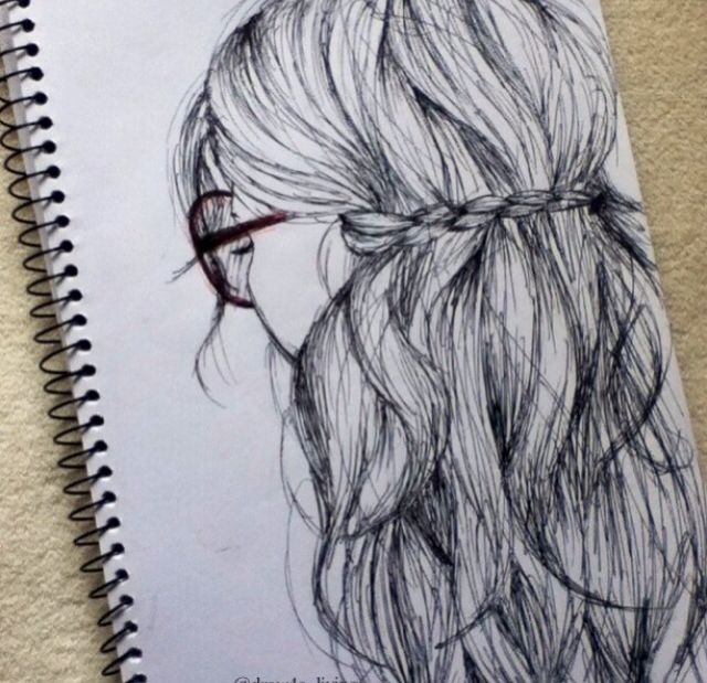 Drawn braid hipster Pinterest best on drawing Realistic