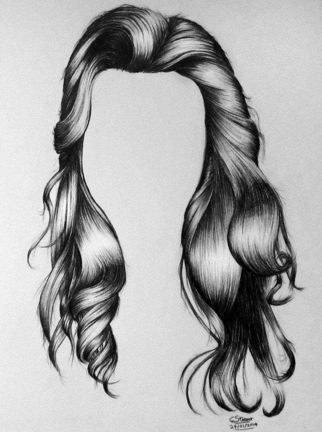 Drawn pen hair Hacerle peinado tu Hair tu