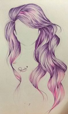 Drawn pen hair A DrawingsCool hair my Draw