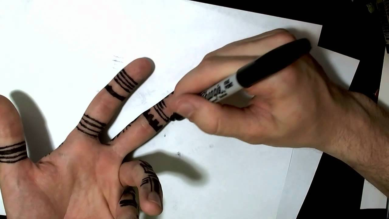 Drawn pen hand drawing Your to How Draw