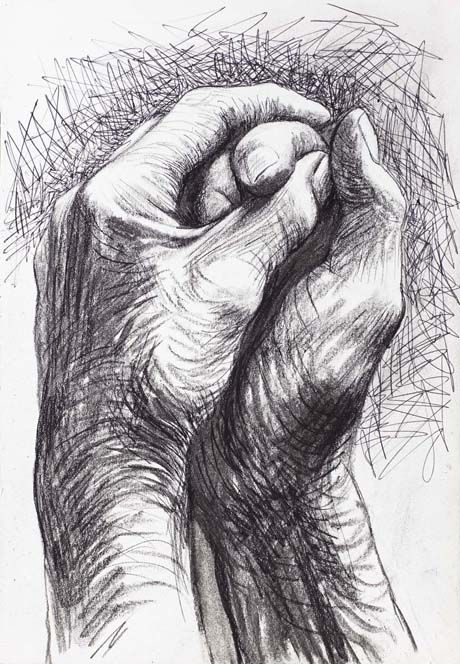 Drawn pen hand drawing On Hand Pinterest 1974 The