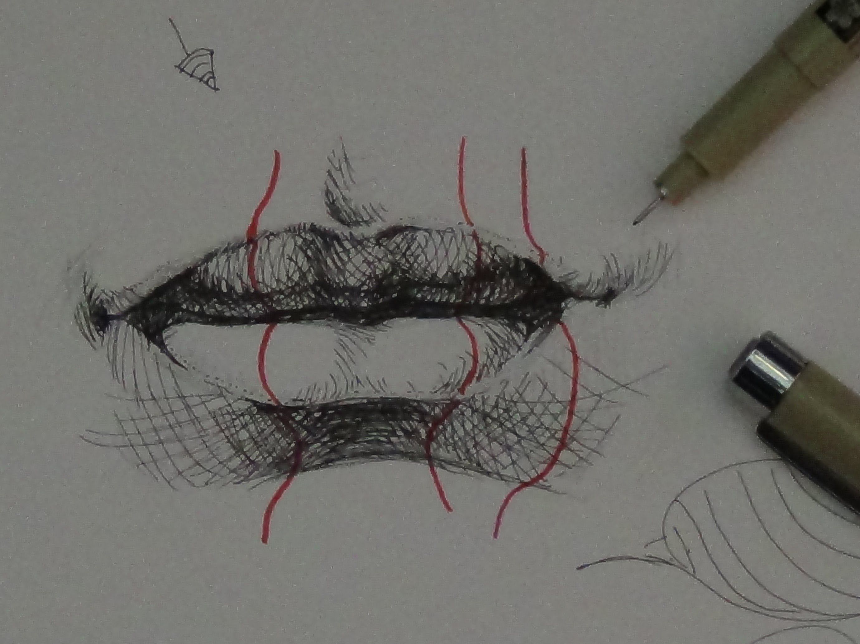 Drawn water droplets pen and ink YouTube Tutorials realistic to draw