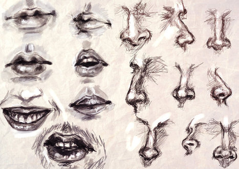 Drawn pen mouth Drawing Study Drawing Resources mouth