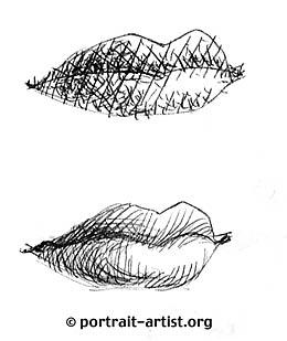 Drawn pen mouth Tutorials Explore cross rendering