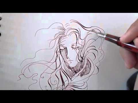 Drawn pen noodler Noodler's YouTube Pen Flex Creaper