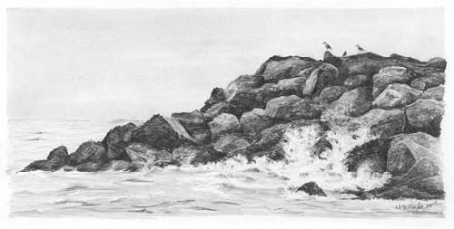 Drawn rock pencil drawing In Pencil Draw to I
