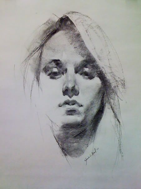 Drawn pen portrait drawing Sketch on Pin images this
