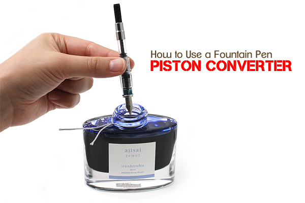 Drawn pen pump Converters to pen Converter Fountain