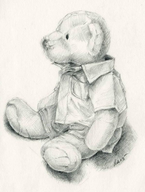 Drawn pen teddy bear 10 Teddy Drawings of for