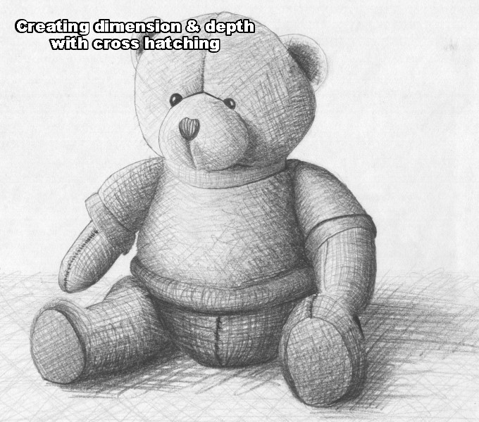 Drawn pen teddy bear An Lets step How pencil
