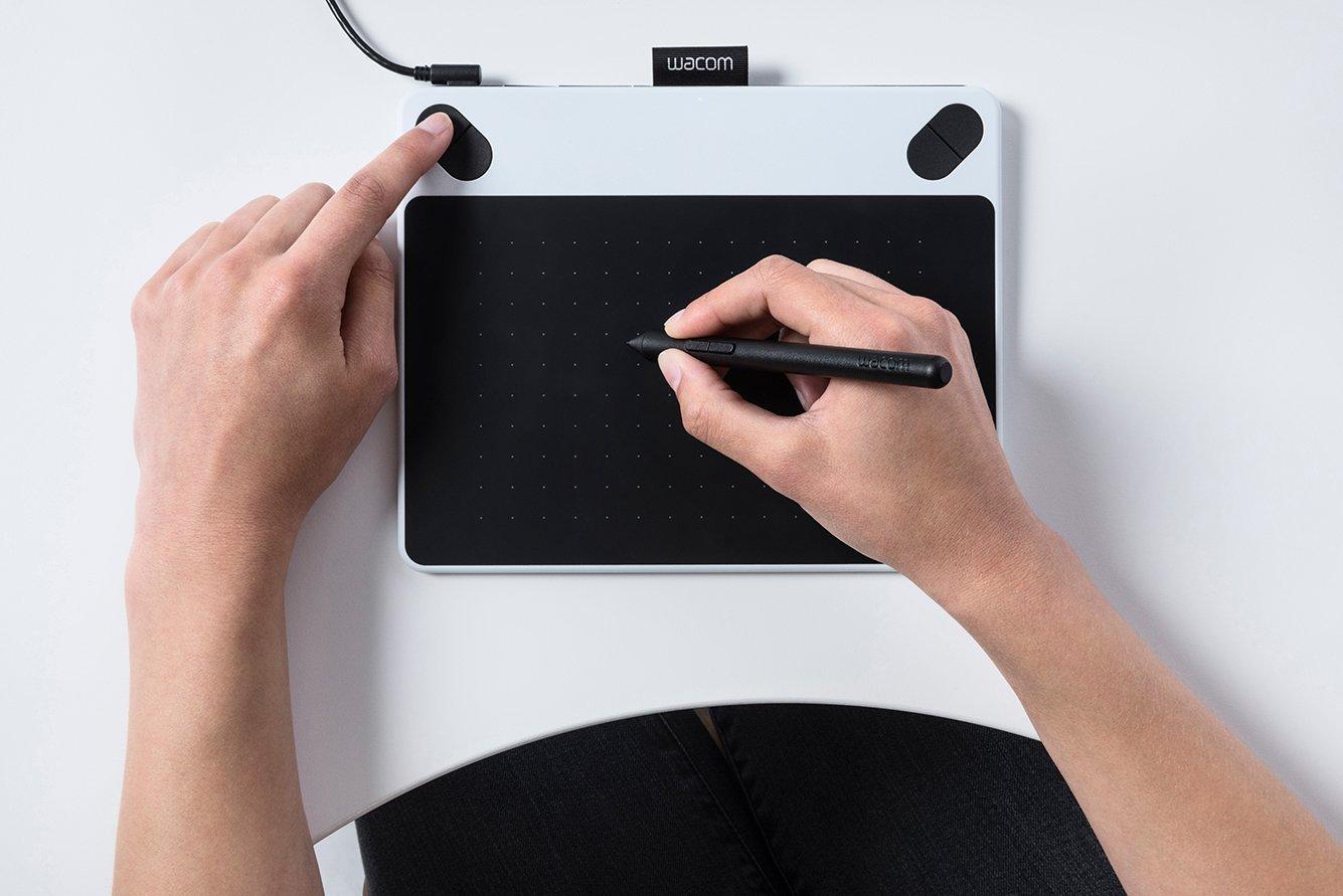 Drawn pen wacom tablet Small Amazon co White: Intuos