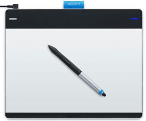 Drawn pen wacom tablet Intuos and Intuos Pen Full
